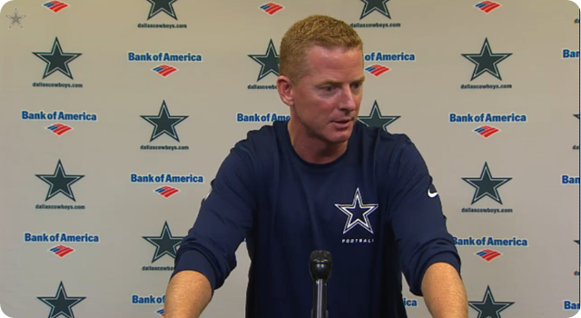 JASON GARRETT PRESS CONFERENCE - New York Giants vs. Dallas Cowboys preparation - The Boys Are Back blog 2013