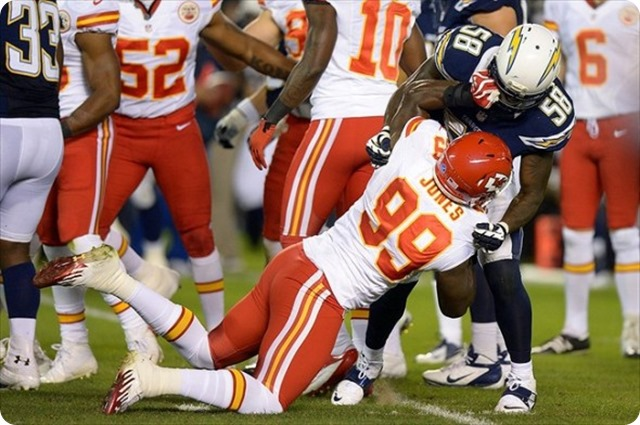 Kansas City Chiefs trade linebacker Edgar Jones to Dallas Cowboys - The Boys Are Back blog 2013