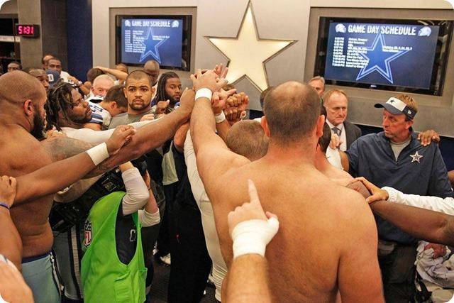 NEW ERA - THE 12th COWPOKE - Rowdy Dallas Cowboys fans create home field advantage at AT&T Stadium - 2013-2013 Dallas Cowboys - Locker room unity