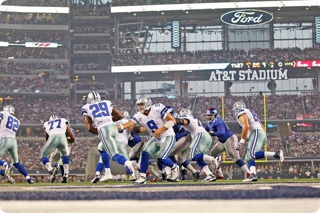 NEW ERA - THE 12th COWPOKE - Rowdy Dallas Cowboys fans create home field advantage at AT&T Stadium - 2013-2013 Dallas Cowboys - Romo2Murray handoff