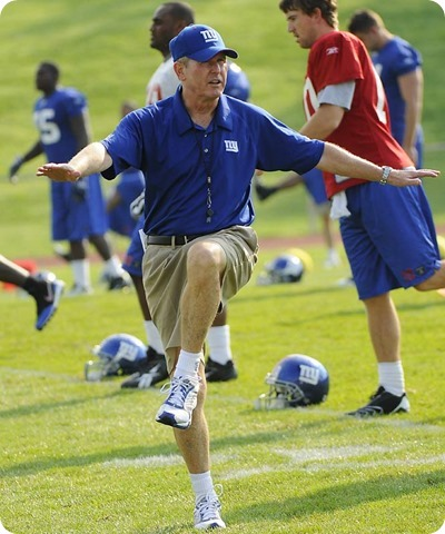 tom coughlin - new york giants camp - the boys are back blog