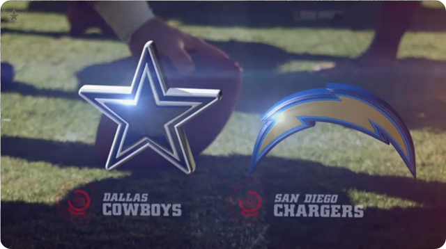 VIDEO - Dallas Cowboys vs. San Diego Chargers highlights - 2013-2014 Dallas Cowboys