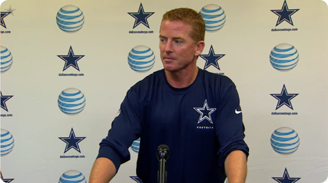 video - jason garrett press conference - Dallas Cowboys vs. Denver Broncos - 2013-2014 Dallas Cowboys schedule