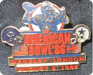 America's Team Dallas Cowboys played in first American Bowl in 1986, met Chicago at Wembley Stadium - NFL International Series