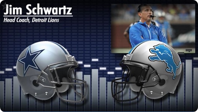 Audio - Jim Schwartz press conference with Dallas Cowboys media - 2013-2014 Dallas Cowboys schedule - button