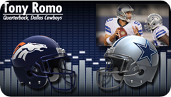 Audio - Pregame press conference with opponent media - 2013-2014 Dallas Cowboys vs. Denver Broncos - Tony Romo - Video button