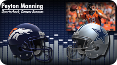 Audio - Pregame press conference with opponent media - 2013-2014 Dallas Cowboys vs. Denver Broncos - Peyton Manning - Video button