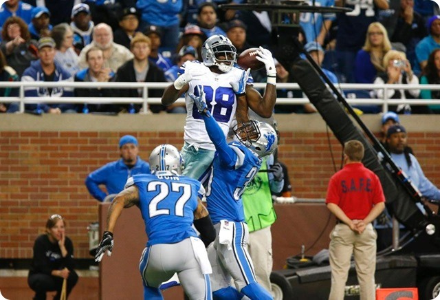 CHANNELING THE X-FACTOR - Jason Garrett has talk with Dez Bryant; team appreciates his passion and emotion - 2013-2014 Dallas Cowboys - Dez one handed catch