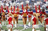 dallas cowboys cheerleaders vs new orleans saints