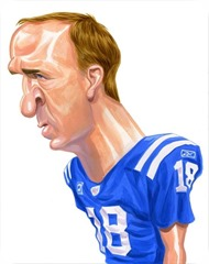 Funny - THE GREAT BLOTCH WATCH - The real story behind Peyton Manning's goofy red forehead spots