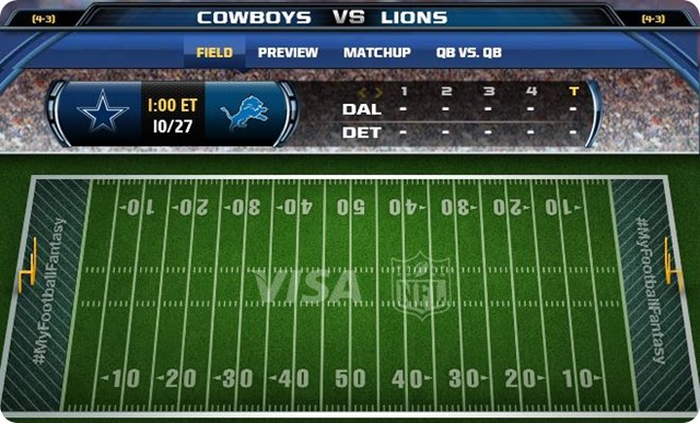 gametrax - dallas cowboys vs. detroit lions - 2013-2014 Dallas Cowboys schedule - The Boys Are Back blog 2013 - lions vs. cowboys - cowboys vs. lions