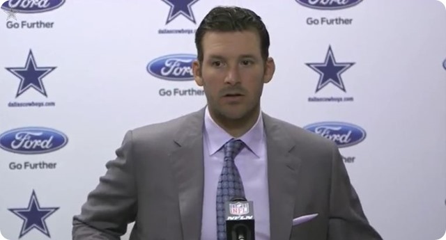 HIGHLIGHTS AND LOWLIGHTS - Dallas Cowboys Tony Romo postgame press conference - Dallas Cowboys QB Tony Romo - watch video - button