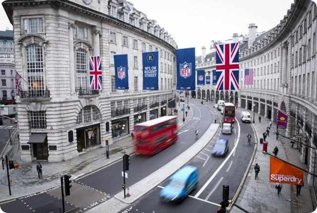 International Series has increased NFL fan interest in the UK London England - America's Team London England - NFL fans Europe - Dallas Cowboys