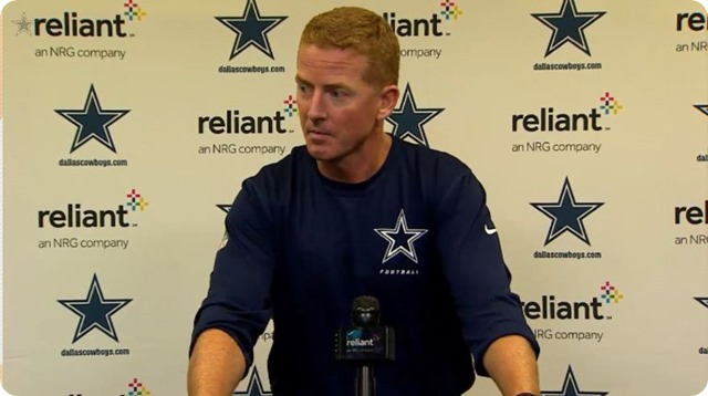 JASON GARRETT PRESS CONFERENCE - 2013-2014 Dallas Cowboys vs. Denver Broncos–Game tape reviewed