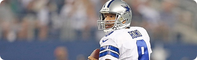 LEADING AMERICA'S TEAM - Dallas Cowboys quarterback Tony Romo set for 100th career start - 2013-2014 Dallas Cowboys roster