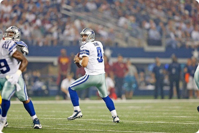 LONE FLASH OF BRILLIANCE - Tony Romo didn't have to be the star, for once - 2013-2014 Dallas Cowboys schedule