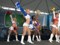 NFL Pro Bowl - Whitney Isleib of the Dallas Cowboys Cheerleaders performs at the 2013 Pro Bowl tailgate party in Honolulu, Hi