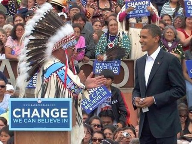 Obama might change (we can believe in) Redskins name if he were owner