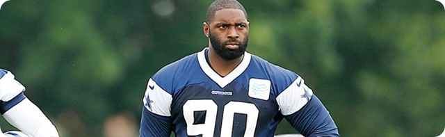 PUP AND CIRCUMSTANCE - NBC's sideline reporter predicts Jay Ratliff's fate - 2013-2014 Dallas Cowboys roster