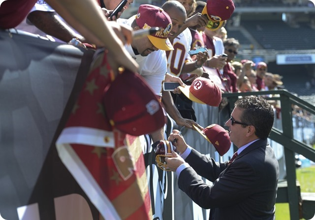 RIVAL REDSKIN HEADLINE - Would you trade Dan Snyder for Jerry Jones -