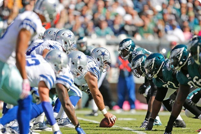 TEXAS 2 DEFENSE CLIPS EAGLES - Game 7 Recap–Dallas Cowboys perched atop NFC East division - matchup trenches Dallas Cowboys OL vs Philadelphia Eagles DL