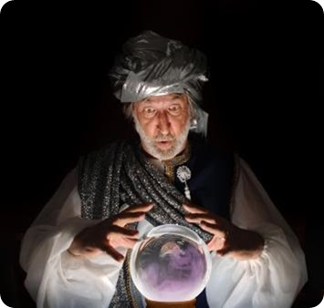 The GREAT Robbini's Crystal Ball - The Boys Are Back blog 2013
