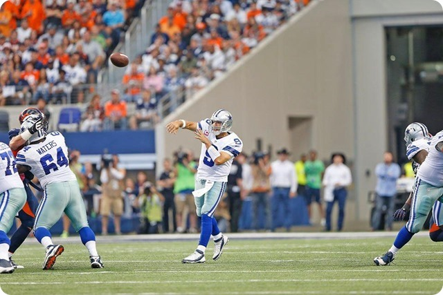VALLEY RANCH VINDICATION VIBE - Dallas Cowboys have a chance at redemption against the Washington Redskins - Tony Romo vs Denver Broncos