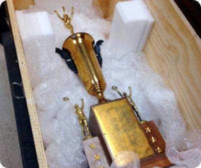 AROUND THE NFL: Cleveland Browns 1946 championship trophy found in North Carolina garage - NFL News