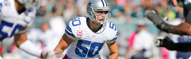 BOYS BYE-WEEK BREAKDOWN - Sean Lee-less linebackers are an issue that the Texas-2 Defense must overcome - Dallas Cowboys news
