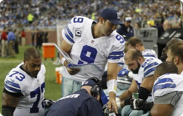 COWBOYS RIVAL HEADLINE - Minnesota StarTribune - Tony Romo came from out of nowhere - 2013-2014 Dallas Cowboys schedule