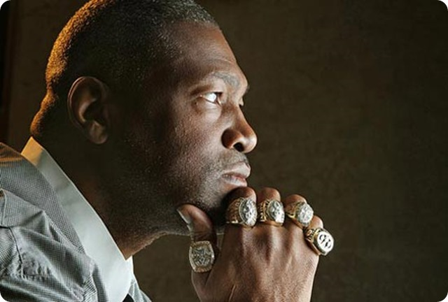 Charles Haley is the only player with five Super Bowl rings, winning three with the Dallas Cowboys