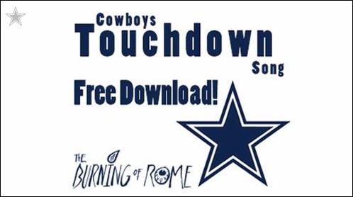 Dallas Cowboys touchdown song