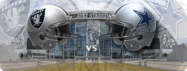 Dallas Cowboys vs. Oakland Raiders - Dallas Cowboys schedule 2013 2014 - Oakland Raiders vs. Dallas Cowboys - Dallas Cowboys news - NFL