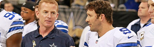 DIVINE INTERVENTION - Dallas Cowboys owner Jerry Jones suggest changes, but not in the coaching ranks - Jason Garrett and Tony Romo