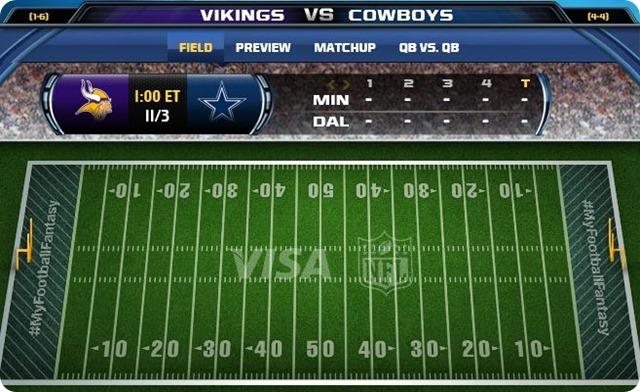 gametrax - dallas cowboys vs. minnesota vikings - 2013-2014 Dallas Cowboys schedule - button - vikings cowboys - cowboys vikings