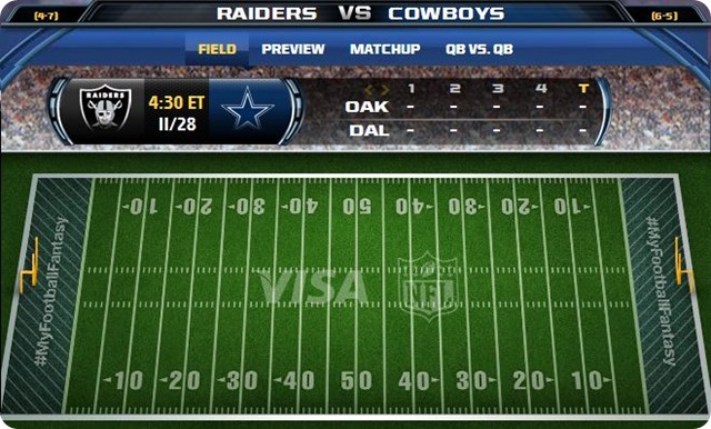 gametrax - oakland raiders vs. dallas cowboys - 2013-2014 Dallas Cowboys schedule - dallas cowboys vs. oakland raiders - Dallas Cowboys schedule 2013 2014