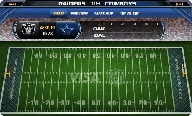 gametrax - oakland raiders vs. dallas cowboys - 2013-2014 Dallas Cowboys schedule - dallas cowboys vs. oakland raiders - Dallas Cowboys schedule 2013 2014