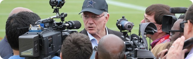 HOLD YOUR HORSES, HATERS - Jason Garrett will be returning to coach the 2014-2015 Dallas Cowboys - Jerry Jones