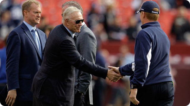 Cowboys owner Jerry Jones and Dallas head coach Jason Garrett - Dallas Cowboys news