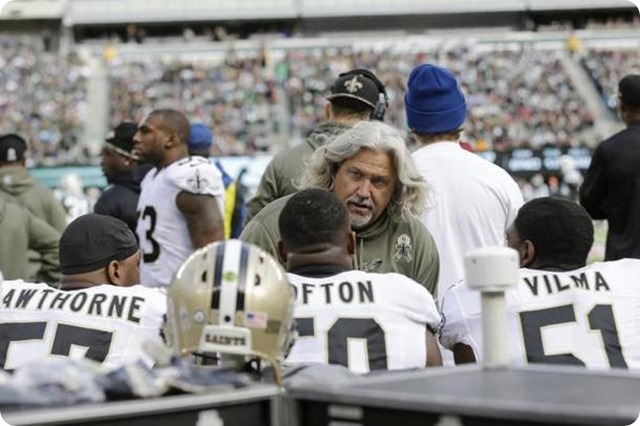 LOOKING FOR ANSWERS IN BIG D - Jerry Jones not second guessing his decision to fire Rob Ryan - 2013-2014 Dallas Cowboys - Cowboys Saints