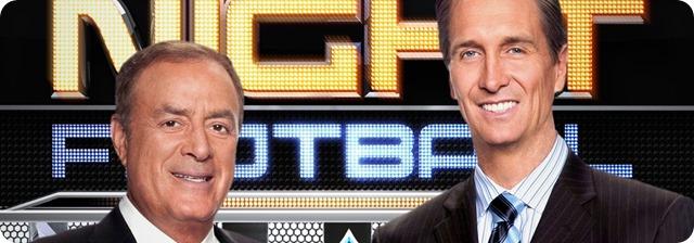 nbc sunday night football - hosts - the boys are back blog