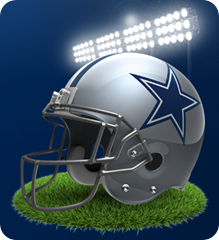 NFC East - Dallas Cowboys 2013 - The Boys Are Back blog - Dallas Cowboys reversed - button