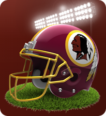 NFC East - Washington Redskins 2013 - The Boys Are Back blog - Washington Redskins reversed - button