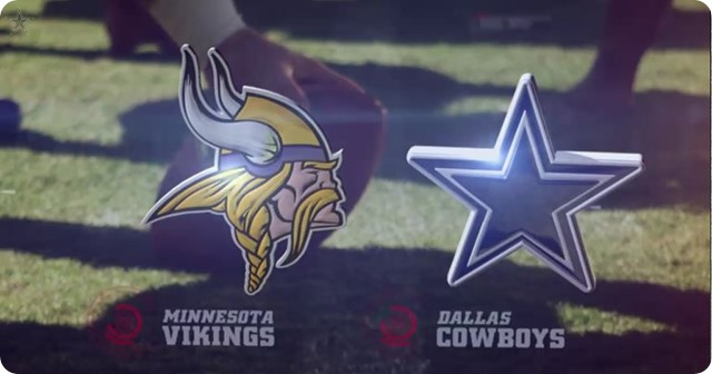 Dallas Cowboys Vs Minnesota Vikings