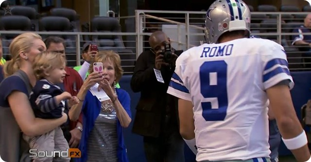 NFL Sound FX - Dallas Cowboys QB Tony Romo Mic'd Up vs. Minnesota Vikings - Dallas Cowboys 2013 Schedule