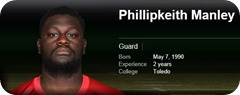 Philipkeith Manley - 2013-2014 Dallas Cowboys roster - Philip Keith Manley