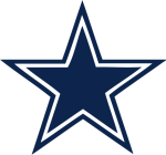 The official Dallas Cowboys star logo - Recognized worldwide as the official symbol of the NFL's Dallas Cowboys and America's Team