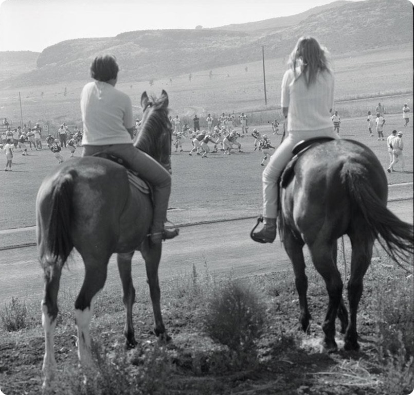 Training Camps in 1967 were a little different than they are today. Of course, Cowboys and horses do fit - Dallas Cowboys history