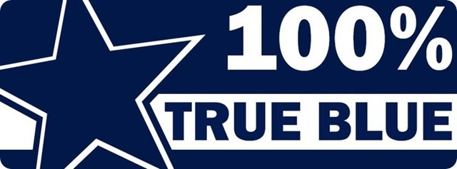 100 percent true blue - Dallas Cowboys True Blues - The Boys Are Back website