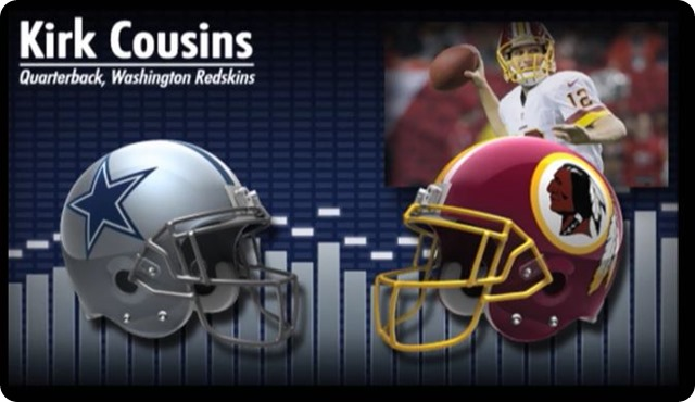 Audio - Kirk Cousins press conference with Washington Redskins media - 2013-2014 Dallas Cowboys schedule - Dallas Cowboys at Washington Redskins